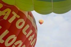 ballong för varm luft för resa Royaltyfri Foto