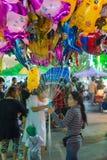 Ballong i en tempelfestivalkarneval Royaltyfri Foto