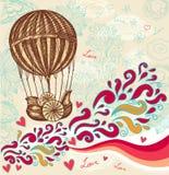 Ballong med oklarheter royaltyfri illustrationer