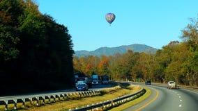 Ballong nedgångTennessee för varm luft Royaltyfri Fotografi