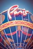 Ballong Paris Las Vegas för varm luft Royaltyfri Bild