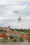 Ballong Prague för varm luft Fotografering för Bildbyråer