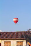 Ballong Vang Vieng Arkivbild