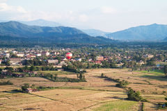 Ballong Vang Vieng Arkivfoton