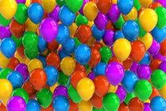 ballongdeltagare Arkivfoton