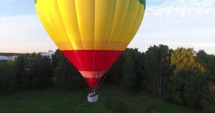 Ballongen tar av i staden lager videofilmer