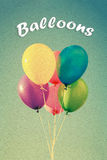 Ballonger stock illustrationer