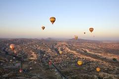 Ballonger Cappadocia fotografering för bildbyråer
