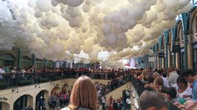 Ballonger för Covent trädgård Royaltyfria Bilder
