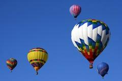 Ballonger för varm luft Royaltyfri Bild