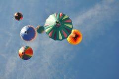 Ballonger för varm luft Royaltyfri Foto