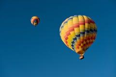 Ballonger för varm luft Arkivbilder