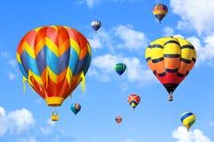 Ballonger för varm luft Royaltyfria Foton