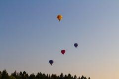 ballonger fyra royaltyfria bilder