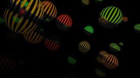 Ballonger gör sammandrag bakgrund royaltyfri illustrationer