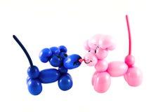 ballonger gjorde möss Fotografering för Bildbyråer