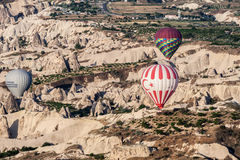 Ballonger i Cappadocia Royaltyfri Foto