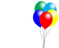 Ballonger och bubbla Royaltyfri Foto