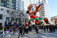 Ballonger på ferien ståtar Fotografering för Bildbyråer