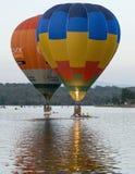Ballonger på mars för Canberra ballongfestival 13th 2016 Arkivbilder