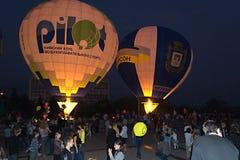 ballonger två Fotografering för Bildbyråer