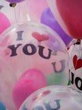 Ballongförälskelse Arkivfoto