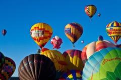 Ballongfestival Arkivbild