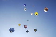 Ballongfestival för varm luft royaltyfria foton