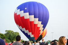 Ballongfestival - 4th av Juli Arkivbild