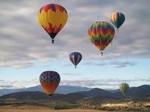 ballongfestivalmontague Arkivfoton