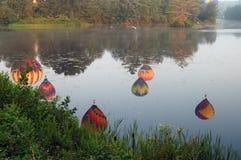 ballongfestivalpittsfield arkivbild