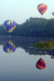ballongfestivalpittsfield arkivfoto