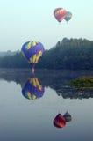 ballongfestivalpittsfield royaltyfria foton