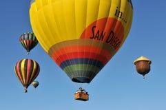 ballongflygande fotografering för bildbyråer
