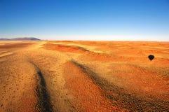 ballongflygande namibia Arkivbilder