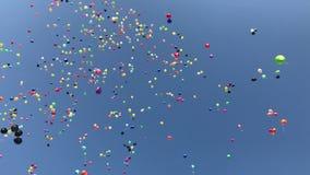 Ballongflyghimmel lager videofilmer