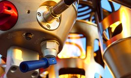 ballonggasbrännare Royaltyfri Fotografi