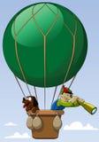 ballonggreen Arkivbild