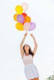 Ballonggyckel Arkivfoto