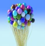 Ballongruppe Stockfoto