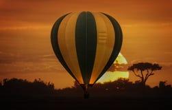 Ballongsafari Fotografering för Bildbyråer
