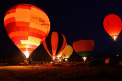 Ballongshow Royaltyfria Foton
