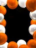 Ballongsvart tavla Fotografering för Bildbyråer
