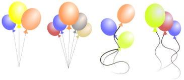 Ballonguppsättning Fotografering för Bildbyråer