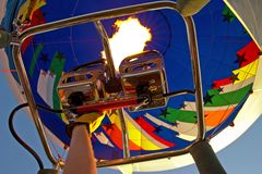 ballonguppvärmning Arkivfoton