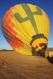 ballonguppvärmning Arkivbild