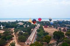 Balloning in Bagan, Myanmar stock fotografie