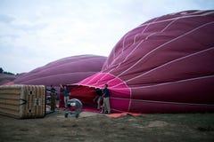 Balloning in Bagan, Myanmar Royalty Free Stock Photo