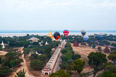 Balloning in Bagan, Myanmar Stock Photography