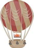 Ballonluftsommer im Vektor Stockfotos